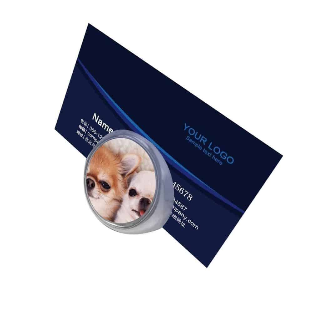Business Card Holder Display Metal Customized File Holder Organizer