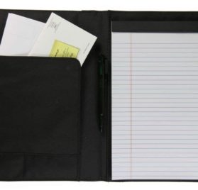 Rikki Knight Rottweiler and Chihuahua Faux Suede Notebook Binder Portfolio (RK-notebook 2