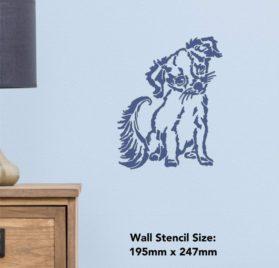 Azeeda A4 'Chihuahua Puppy' Wall Stencil Template (WS00032555) 2