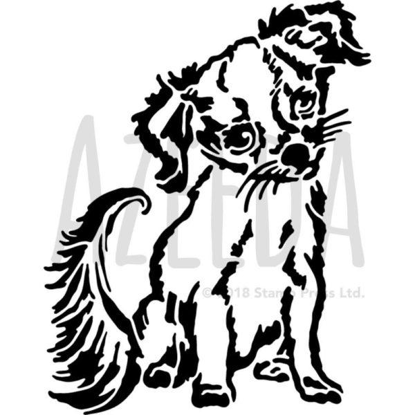 Azeeda A4 'Chihuahua Puppy' Wall Stencil Template (WS00032555)