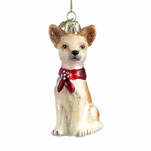 "3.5"" Noble Gems Chihuahua Ornament"