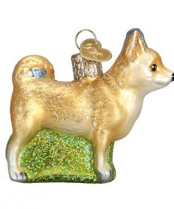 Old World Christmas Glass Blown Ornament with S-Hook and Gift Box, Dog Collection (Chihuahua) 2