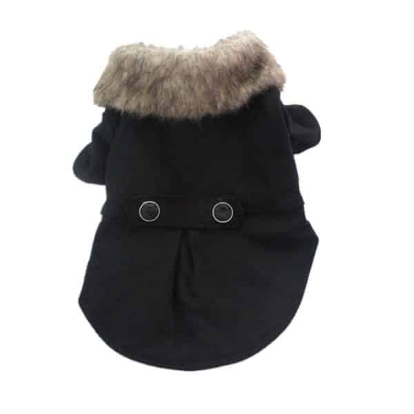 Puppy Dog Warm Jacket Fur Hoodie Coat Pet Outwear Windproof Clothes Chihuahua