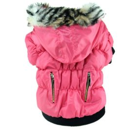 Soly Tech Winter Pet Cat Dog Soft Padded Coat Hooded Jacket Small Dog Clothes XS-XXL