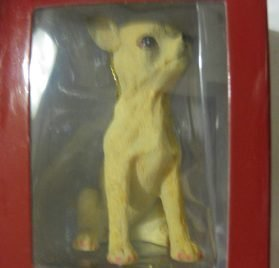 1 X Chihuahua Dog Christmas Ornament