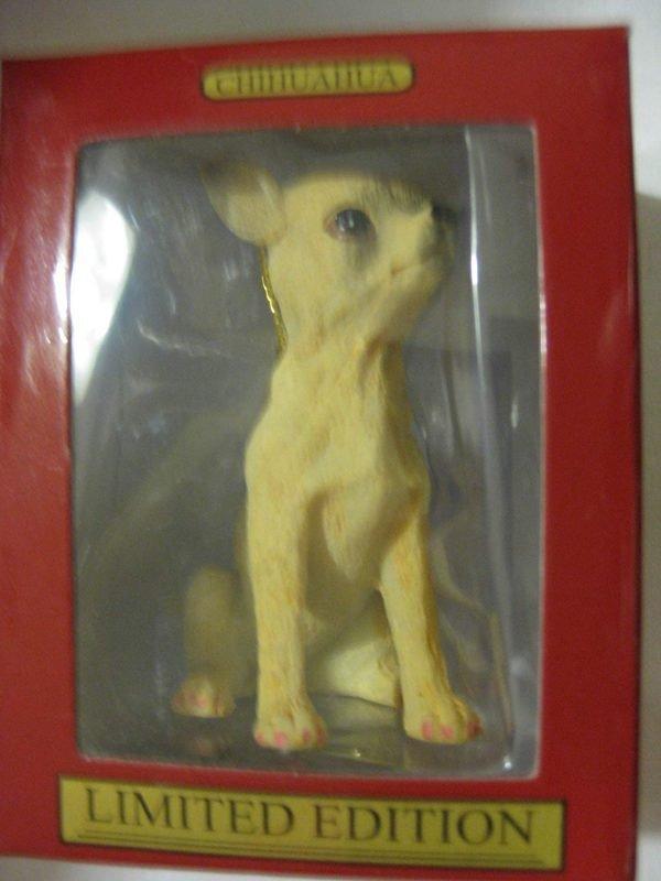 1 X Chihuahua Dog Christmas Ornament
