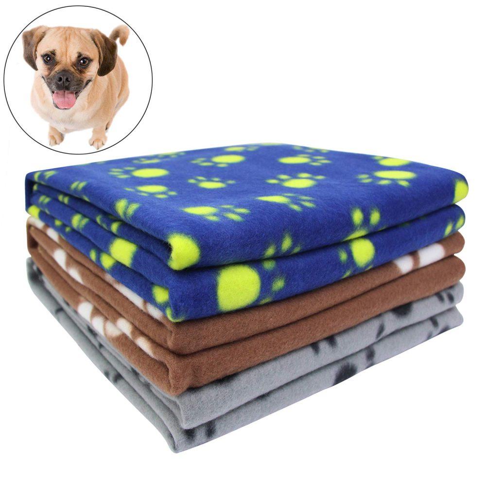 Ak Kyc 3 Pack 40 X 28 Puppy Blanket Cushion Dog Cat