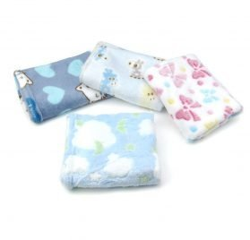 Alfie Pet by Petoga Couture - Amory 4-Piece Set Fleece Blanket for Dogs and Cats 2