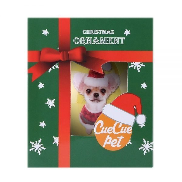 Animal Friends Christmas Holiday Tree Ornament Shatter Proof Ball with Box (Chihuahua) 5