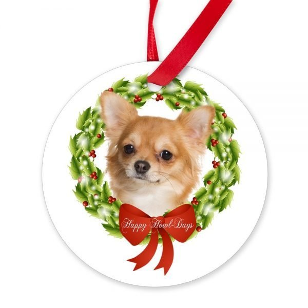 CafePress Chihuahua Ornament Round Christmas Ornament