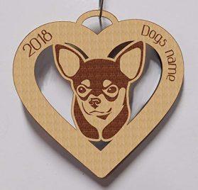 Chihuahua, Chihuahua Ornament, Chihuahua Gift, Personalized Chihuahua Ornament, Chihuahua Pet Gift, Dog Gift, Dog Ornament