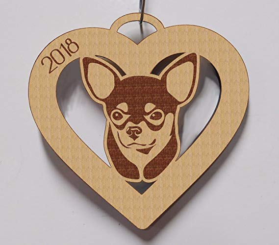 Chihuahua, Chihuahua Ornament, Chihuahua Gift, Personalized Chihuahua Ornament, Chihuahua Pet Gift, Dog Gift, Dog Ornament 3