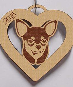 Chihuahua, Chihuahua Ornament, Chihuahua Gift, Personalized Chihuahua Ornament, Chihuahua Pet Gift, Dog Gift, Dog Ornament 4