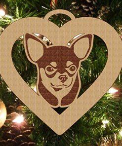 Chihuahua, Chihuahua Ornament, Chihuahua Gift, Personalized Chihuahua Ornament, Chihuahua Pet Gift, Dog Gift, Dog Ornament 5