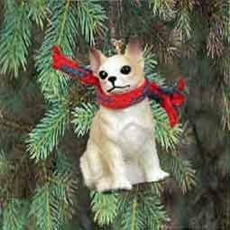 Chihuahua Miniature Dog Ornament - Fawn