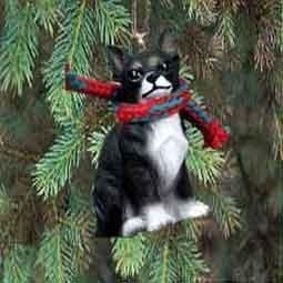 Chihuahua Miniature Dog Ornament - Tri Color