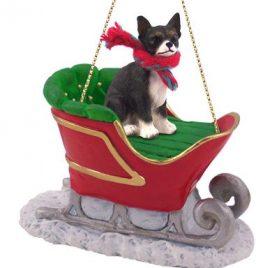 Conversation Concepts Chihuahua Sleigh Dog Christmas Ornament