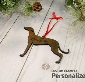 Customizable Chihuahua Christmas Tree Ornament 2