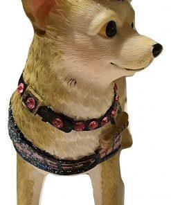 December Diamonds Sweet Tea the Chihuahua Ornament 4