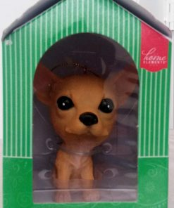Home Elements Resin Chihuahua Dog Ornament
