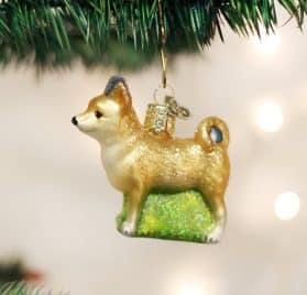 Old World Christmas Ornaments- Chihuahua Glass Blown Ornaments for Christmas Tree 2
