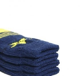 Toy Small Dog Non Slip 2 sock packs (8 pcs) For Yorkie Pom Maltese Chihuahua (Small Size, blue, yellow, star) 2