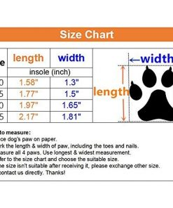 Ulandago Winter Dog Boots for Small Mini Dog 2