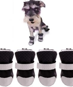 Ulandago Winter Dog Boots for Small Mini Dog