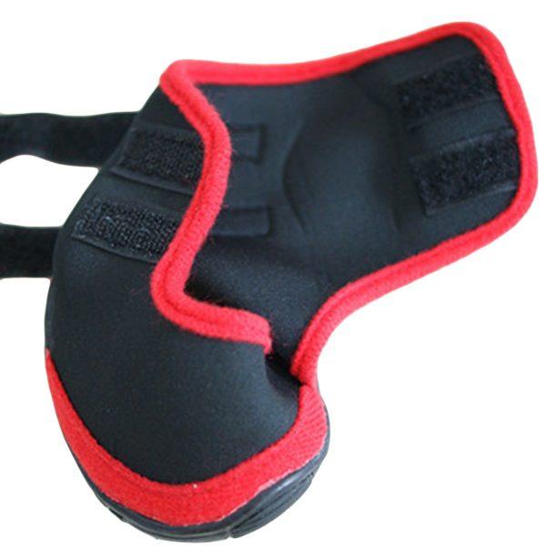 Adorrable Anti Slip Dog Shoes Waterproof Winter Warm Small Medium Large Pet Rainboots, Red, XX-Small 4