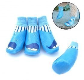 Alfie Pet by Petoga Couture - Michal Set of 4 Rubber Dipped Dog Paw Protection Socks