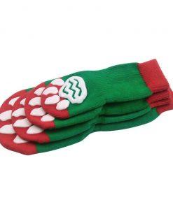 EXPAWLORER Christmas Dog Socks Non Slip for Hardwood Floors - Anti-Slip Socks for Small to Large Dogs, Traction Control, Paw Protection 4