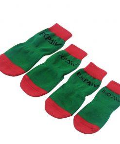 EXPAWLORER Christmas Dog Socks Non Slip for Hardwood Floors - Anti-Slip Socks for Small to Large Dogs, Traction Control, Paw Protection 6