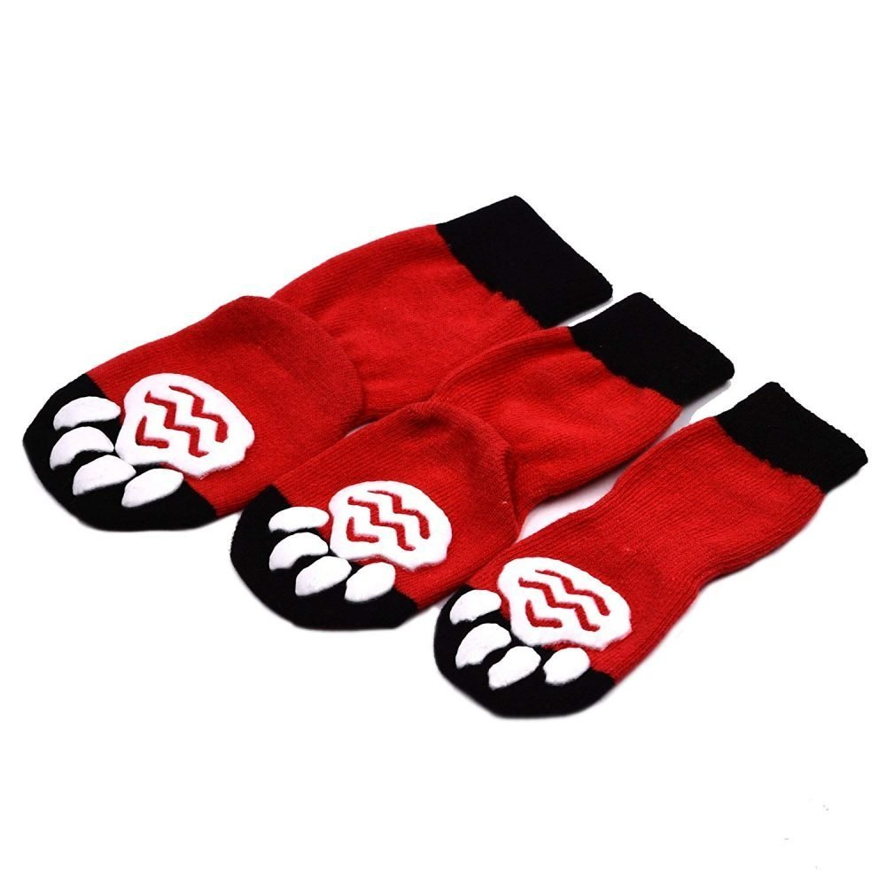 Expawlorer Dog Socks Traction Control Anti Slip For