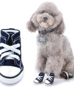 Scheppend Anti-Slip Dog Boots for Small Dogs Sport Shoes Fashion Pet Sneakers,Blue #1(1.6