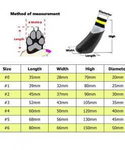 abcGoodefg 4pcs Pet Dog Socks-Puppy Pet Dog Outdoor Waterproof Shoes Socks, Rainproof Nonslip Shoes Boots Sneaker Cotton Socks+Rubber Sole 2