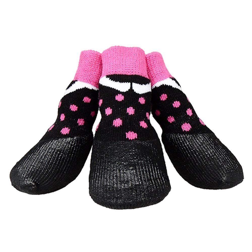 de4143b8f0f1 abcGoodefg Pet Dog Puppy Waterproof Nonslip Sports Socks Shoes