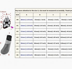 abcGoodefg Pet Dog Puppy Waterproof Nonslip Sports Socks Shoes Boots, Rubber Sole, Comfortable Design for Small Medium Large Pet Dog. (Ethnic, 0) 2