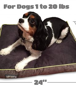 """Better World Pets 5-Inch Thick Waterproof Orthopedic Memory Foam Dog Bed with 180 GSM Removable Washable Cover, Small (24"""" x 18"""" x 5"""") 2"""