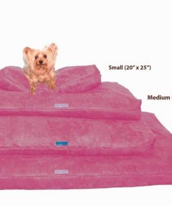 Five Diamond Collection Shredded Memory Foam Orthopedic Bed with Removable Washable Cover and Water Proof Inner Fabric, Small (25-Inch-by- 20-Inch) 2