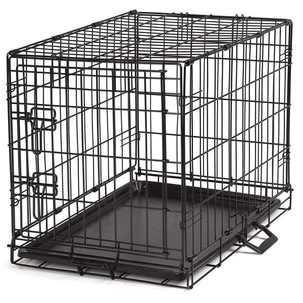 Guardian Gear ProSelect Easy Dog Crates for Dogs and Pets - Black
