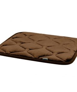 Hero Dog Small Dog Bed Mat 21 Inch Crate Pad Anti Slip Mattress Washable for Pets Sleeping (Coffee XS)