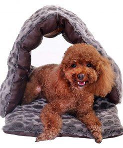 PLS Birdsong Slipper Cuddle Bed, Pet Cave, Dog Cave, Cat Cave, Dog Beds, Cat Beds, Dog Beds for Small Dogs 2