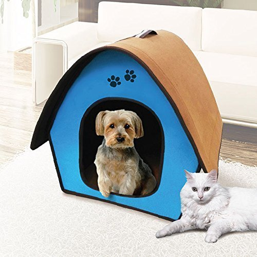 Penn Plax Portable Soft Dog House for Smaller Dogs