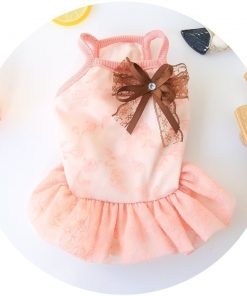 BBEART Dog Clothes, Small Dogs Clothes Sweet Dog Dress Princess Tutu Dress Skirt Clothing Puppy Clothes Apparel Small Dog Clothes 2