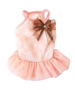 BBEART Dog Clothes, Small Dogs Clothes Sweet Dog Dress Princess Tutu Dress Skirt Clothing Puppy Clothes Apparel Small Dog Clothes