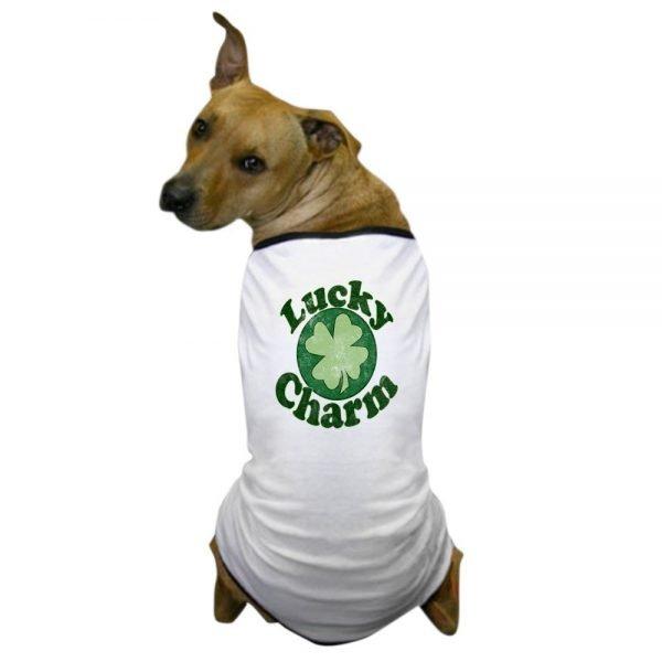 CafePress - Irish St. Patricks Day Dog T-Shirt - Dog T-Shirt, Pet Clothing, Funny Dog Costume