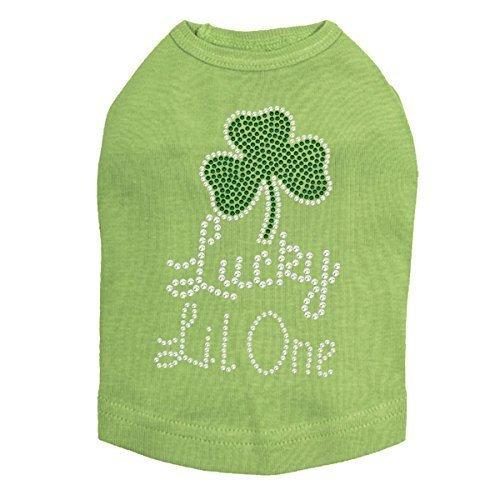 Lucky Lil One - St. Patricks Day Rhinestone Dog Shirt