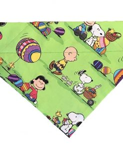 BPAWED PALS Peanuts Easter Egg Hunt Over-The-Collar Dog Bandana