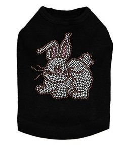 Easter Bunny - Rhinestone Easter Dog Shirt