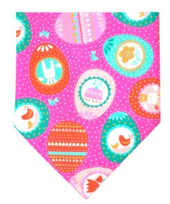 KZHAREEN 2 Pack Easter Dog Bandana Reversible Triangle Bibs Scarf Accessories for Dogs Cats Pets Animals 2